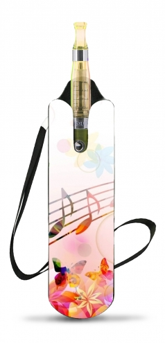 Musical Notes Butterflies voor Necklace Lanyard for Cigaret Electronic