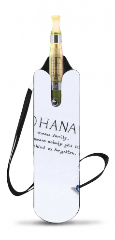 Ohana Means Family voor Necklace Lanyard for Cigaret Electronic