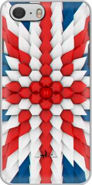 3D Poly Union Jack London flag Hoesje voor Iphone 6 4.7