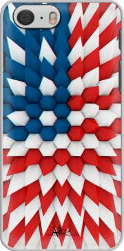 3D Poly USA flag Hoesje voor Iphone 6 4.7