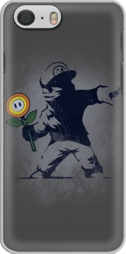 Banksy Flower bomb Hoesje voor Iphone 6 4.7