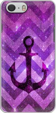Anchor Chevron Purple Hoesje voor Iphone 6 4.7
