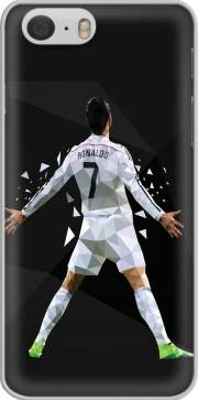 Cristiano Ronaldo Celebration Piouuu GOAL Abstract ART voor Iphone 6 4.7