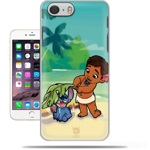 Hoesje Disney Hangover Moana and Stich voor Iphone 6 4.7