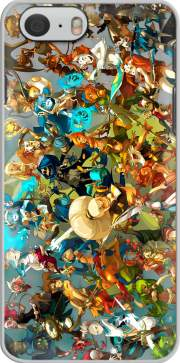 Dofus X Wakfu Fan Art All Classes voor Iphone 6 4.7