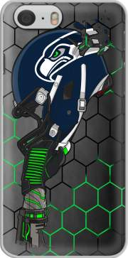 Football Helmets Seattle  Hoesje voor Iphone 6 4.7