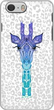 Giraffe Purple Hoesje voor Iphone 6 4.7