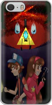 Gravity Falls Monster bill cipher Wheel voor Iphone 6 4.7