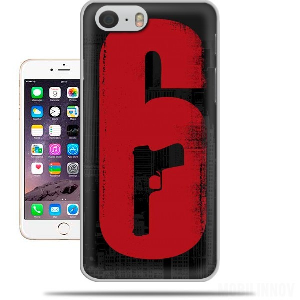 Hoesje Inspiration Rainbow 6 Siege - Pistol inside Gun voor Iphone 6 4.7