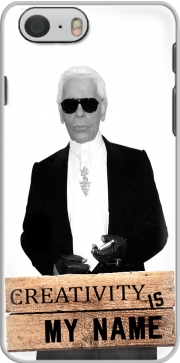 Karl Lagerfeld Creativity is my name Hoesje voor Iphone 6 4.7