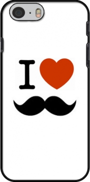 I love Moustache Hoesje voor Iphone 6 4.7