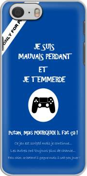Mauvais perdant - Bleu Playstation Hoesje voor Iphone 6 4.7