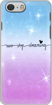 Never Stop dreaming Hoesje voor Iphone 6 4.7