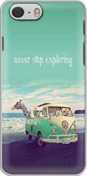 Never Stop Exploring - Lamas on Holidays Hoesje voor Iphone 6 4.7