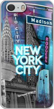 New York City II [blue] Hoesje voor Iphone 6 4.7
