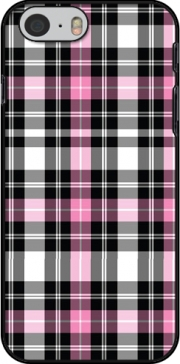 Pink Plaid Hoesje voor Iphone 6 4.7