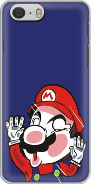 Plumber stuck between the glass Hoesje voor Iphone 6 4.7