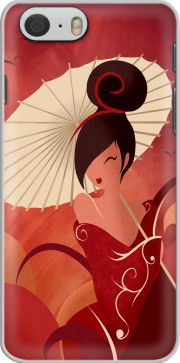 Sakura Asian Geisha Hoesje voor Iphone 6 4.7