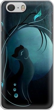Sensual Cat in the Moonlight  Hoesje voor Iphone 6 4.7