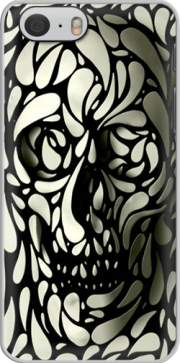 Skull Zebra White And Black Hoesje voor Iphone 6 4.7
