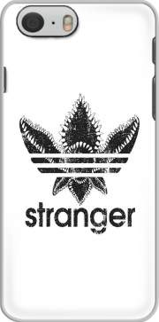 Stranger Things Demogorgon Monster JOKE Adidas Parodie Logo Serie TV Hoesje voor Iphone 6 4.7