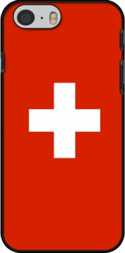 Switzerland Flag Hoesje voor Iphone 6 4.7