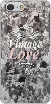Vintage love in black and white Hoesje voor Iphone 6 4.7