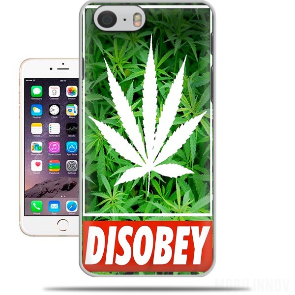 Hoesje Weed Cannabis Disobey voor Iphone 6 4.7