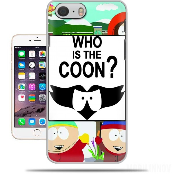 Hoesje Who is the Coon ? Tribute South Park cartman voor Iphone 6 4.7