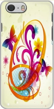 Butterfly with flowers Hoesje voor Iphone 6s