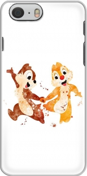 Chip And Dale Watercolor Hoesje voor Iphone 6s
