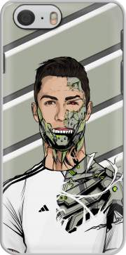 Football Legends: Cristiano Ronaldo - Real Madrid Robot Hoesje voor Iphone 6s