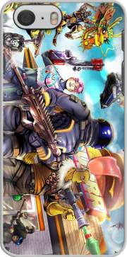 Fortnite Characters with Guns Hoesje voor Iphone 6s