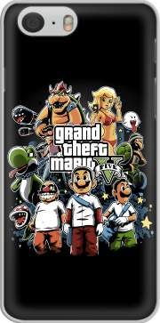 Grand Theft Mario Hoesje voor Iphone 6s