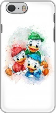 Huey Dewey and Louie watercolor art Hoesje voor Iphone 6s