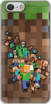 Minecraft Creeper Forest Hoesje voor Iphone 6s