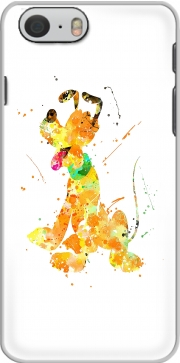 Pluto watercolor art Hoesje voor Iphone 6s