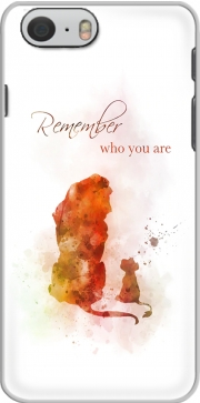 Remember Who You Are Lion King Hoesje voor Iphone 6s