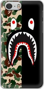 Shark Bape Camo Military Bicolor Hoesje voor Iphone 6s