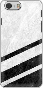 White Striped Marble Hoesje voor Iphone 6s
