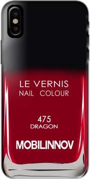 Nail Polish 475 DRAGON Hoesje voor Iphone X / Iphone XS