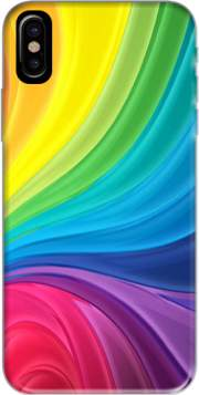 Rainbow Abstract Hoesje voor Iphone X / Iphone XS