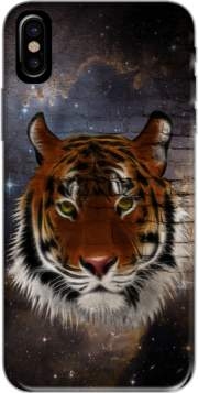 Abstract Tiger Hoesje voor Iphone X / Iphone XS