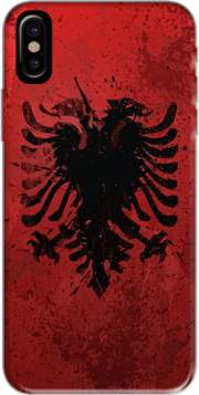 Albanie Painting Flag Hoesje voor Iphone X / Iphone XS