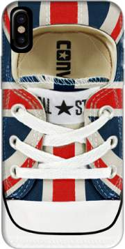 All Star Basket shoes Union Jack London Hoesje voor Iphone X / Iphone XS