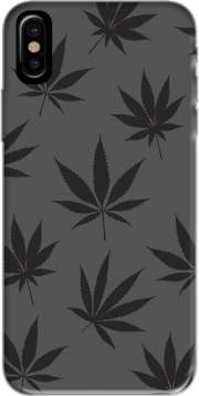 Cannabis Leaf Pattern Hoesje voor Iphone X / Iphone XS