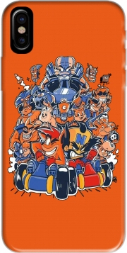 Crash Team Racing Fan Art Hoesje voor Iphone X / Iphone XS