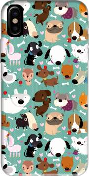 Dogs Hoesje voor Iphone X / Iphone XS