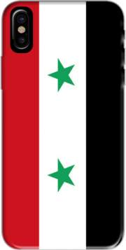 Flag of Syria Hoesje voor Iphone X / Iphone XS