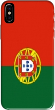 Flag Portugal Hoesje voor Iphone X / Iphone XS